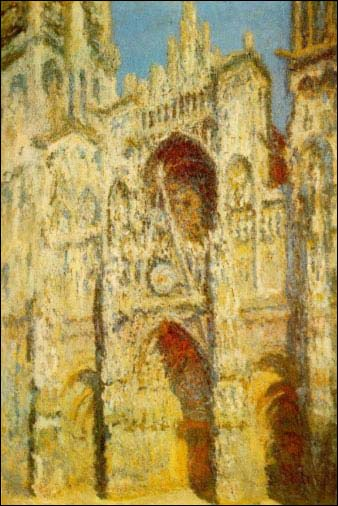 Catedral Rouen, Monet