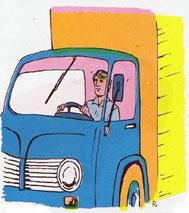 Las dolencias del camionero