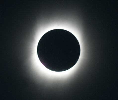 Corona solar del eclipse total