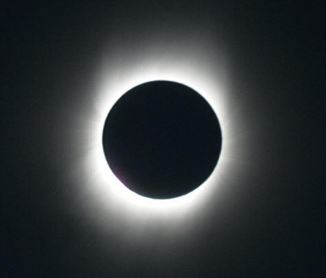 Corona solar del eclipse total