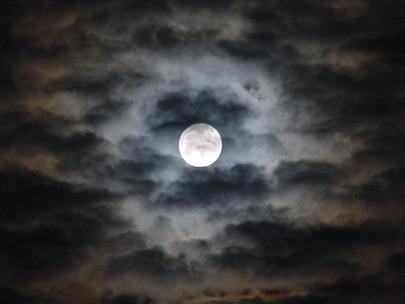 Luna en Islas Canarias