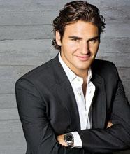 Roger Federer elegante