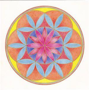 Mandalas como actividad artística en el camino del alma
